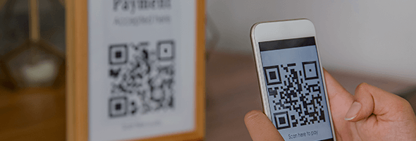 welcome back, QR codes